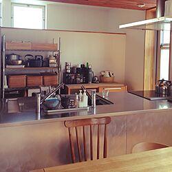 キッチン/スチールラック/無印良品のインテリア実例 - 2015-09-10 09:52:06
