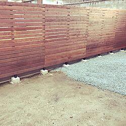 芝/ウッドデッキ/庭/DIY/ウッドフェンス...などのインテリア実例 - 2017-07-06 20:13:35
