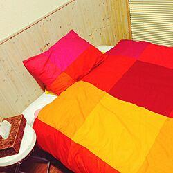 ベッド周り/IKEA/ニトリ/ひとり暮らし 1K/3COINS...などのインテリア実例 - 2014-12-11 21:19:00