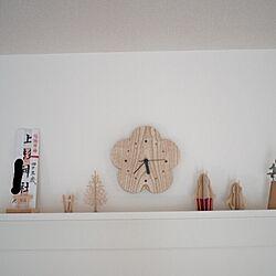 壁/天井/時計/神棚がわりに/ムーミン/lovi...などのインテリア実例 - 2016-10-20 19:53:08