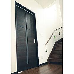 壁/天井/わが家のドア/永大 ドア/ダークブラウンのドア/かっこいいドア...などのインテリア実例 - 2020-09-27 10:52:03