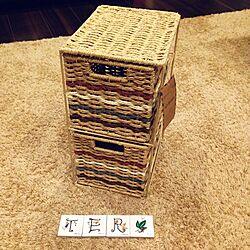 今日の戦利品♡/タイル/ペーパーボックスのインテリア実例 - 2014-06-27 18:48:44
