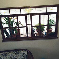 リビング/二重窓DIY/ダイソー額縁/セリア取っ手のインテリア実例 - 2017-04-05 16:56:27