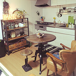 リビング/ダルトンのスケール/ジャーナルスタンダードのテーブル/コーヒーメーカー/IKEAのカップ...などのインテリア実例 - 2018-02-21 17:53:16