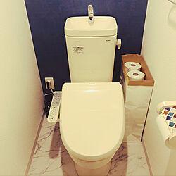クラフト紙袋収納/トイレットペーパー収納/賃貸/1LDK2人暮らし/バス/トイレのインテリア実例 - 2019-12-06 10:31:11