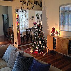 リビング/クリスマス♪/ライトアップ/影のインテリア実例 - 2013-11-19 10:18:42