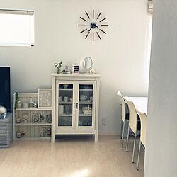 DIY棚/食器収納/ホワイト好き/グリーン/ホワイト...などのインテリア実例 - 2020-05-28 18:46:22