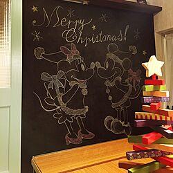 壁/天井/クリスマス/クリスマスディスプレイ/カリフォルニアスタイル/西海岸...などのインテリア実例 - 2016-11-04 18:58:05