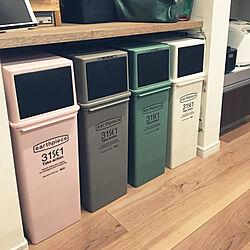 キッチン/フロントオープンゴミ箱/ゴミ箱のインテリア実例 - 2018-02-28 20:07:37