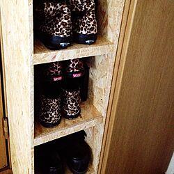 玄関/入り口/ハンドメイド/靴箱DIYのインテリア実例 - 2014-06-10 14:41:03