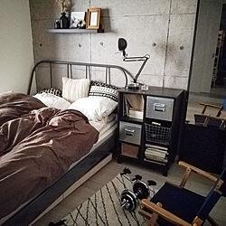 ベッド周り/宅トレ/ニトリ/ベランダガーデン/ニトリ2020ベランダガーデンモニター...などのインテリア実例 - 2020-05-03 22:00:52