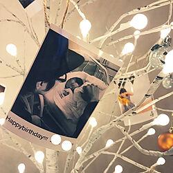 birthdaytree/HappyBirthday/アートギャラリー/ブランチツリー/壁/天井のインテリア実例 - 2020-10-25 20:29:04