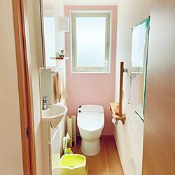 リクシルのトイレ/トイレ/いつもありがとうございます♡/家族で暮らす/男の子2人...などのインテリア実例 - 2020-10-22 09:46:55