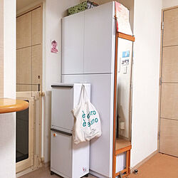 リビング/狭い部屋 /すっきり暮らしたい/収納/こどもと暮らすのインテリア実例 - 2019-02-28 23:06:05