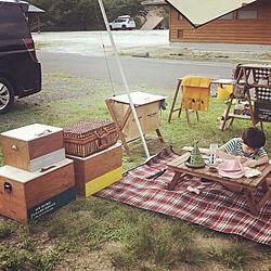 木箱/DIY/DIY リメイク/キャンプ道具/キャンプ...などのインテリア実例 - 2020-08-07 13:34:24