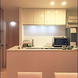 キッチン/コストコ/LEDパックライト/インテリア/無印良品...などのインテリア実例 - 2016-02-08 04:06:17