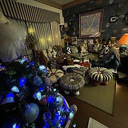 クリスマスツリー/エルメスのスカーフ額装/IKEA/シュタイフ/クリスマス...などのインテリア実例 - 2020-12-22 08:02:39