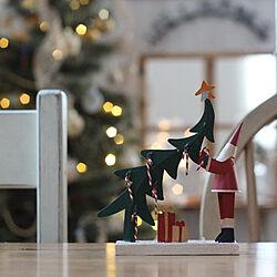 机/クリスマス/クリスマスディスプレイ/studioclipのツリー/サンタクロースのインテリア実例 - 2018-11-29 16:27:06