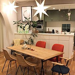 IDEE テーブル/IDEE チェア/IDEE/STROLA/IKEA...などのインテリア実例 - 2017-11-13 22:29:11