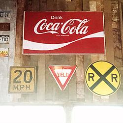 レトロ/コカコーラ/ヴィンテージ/バイク車庫/DIY...などのインテリア実例 - 2020-07-04 09:40:39