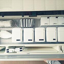 キッチン/シンク下/収納/シンプル/ホワイト...などのインテリア実例 - 2018-06-18 06:22:50