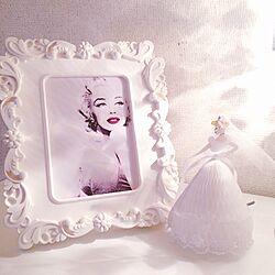 棚/whiteroom/sexy/Marilyn Monroe/マリリンモンロー...などのインテリア実例 - 2017-02-05 20:08:31