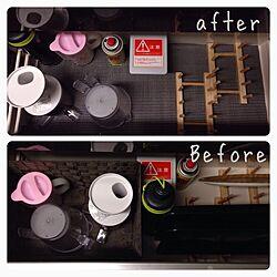 棚/Afte/before画像/収納のインテリア実例 - 2013-12-10 01:46:49