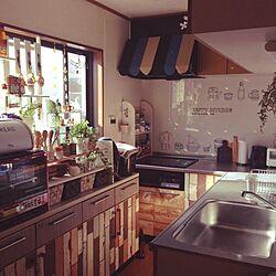 キッチン/サンキャッチャー/拭き上げ強化週間!!/DIY/600枚目のインテリア実例 - 2014-07-26 07:35:11