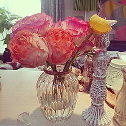 キッチン/flower/フラワーベース/花瓶/お花...などのインテリア実例 - 2014-03-03 21:12:04