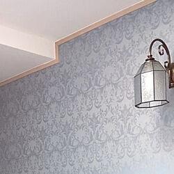 お気に入りのカラー/アクセントクロス/壁紙/照明/壁/天井のインテリア実例 - 2021-06-15 16:04:58