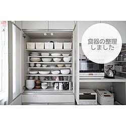 断捨離/食器/食器収納/食器棚収納/食器棚...などのインテリア実例 - 2020-09-03 16:24:06