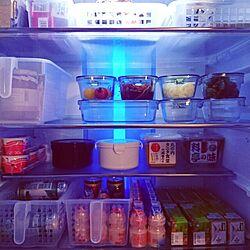 買ってよかったモノ/冷蔵庫の中/iwakiのガラス容器のインテリア実例 - 2016-02-26 21:55:37