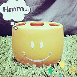 バス/トイレ/スマイル♡/歯ブラシホルダーのインテリア実例 - 2014-02-26 23:10:17