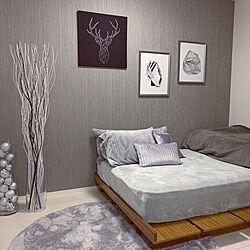 IKEA/一人暮らし/北欧/モノトーン/ベッド周りのインテリア実例 - 2019-11-20 17:13:17