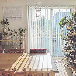 部屋全体/クリスマス/クリスマスツリー/グリーンのある暮らし/カフェみたいな暮らし...などのインテリア実例 - 2017-11-23 14:16:57