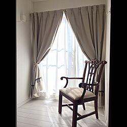 フリンジ/タッセル/椅子/アンティーク/物干しスペース...などのインテリア実例 - 2017-01-25 20:40:24