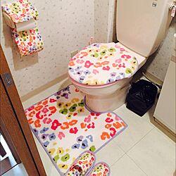 バス/トイレ/レオパード/便座カバーのインテリア実例 - 2015-04-02 23:25:37
