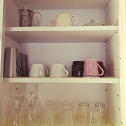 食器棚/キッチンのインテリア実例 - 2020-04-30 19:21:11
