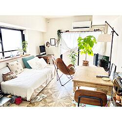 1K/一人暮らし/賃貸/天井が高い部屋に住みたい/狭い部屋...などのインテリア実例 - 2020-07-21 11:59:46