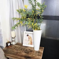 花瓶はブリキ/花瓶/古材/古材テーブル/KINFOLK...などのインテリア実例 - 2019-03-05 00:14:06