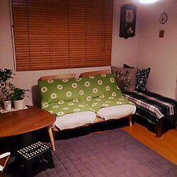 リビング/子供と暮らす。/すっきり暮らしたい/こたつ/木の家具...などのインテリア実例 - 2015-10-07 23:31:56