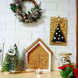 棚/クリスマス/一人暮らし/いつもいいねやコメありがとうございます♡/賃貸インテリア...などのインテリア実例 - 2019-11-27 16:12:23