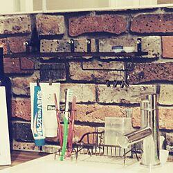 壁/天井/男前初心者♪/壁紙屋本舗/ブライワックス・ジャコビアン/セリアのインテリア実例 - 2015-01-18 02:08:44