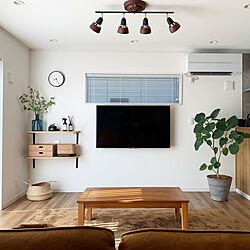 観葉植物/吹き抜けのある家/リビング階段/北欧インテリア/飾り棚...などのインテリア実例 - 2020-04-12 07:09:35