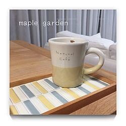 キッチン/カフェ風/DIY/タイルクラフト/インスタ→mp.garden...などのインテリア実例 - 2017-01-26 18:07:21