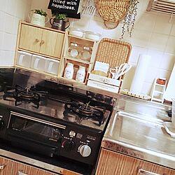 キッチン/セリア/キャンドゥ/シンプル/ダイソー...などのインテリア実例 - 2015-01-25 21:42:55