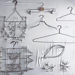 洗濯バサミ/洗濯ハンガー/洗濯グッズ/SUS/壁/天井...などのインテリア実例 - 2016-05-15 18:55:35