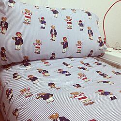 リビング/IKEA/sofa/Ralphlauren/teddybearのインテリア実例 - 2013-11-11 00:21:41
