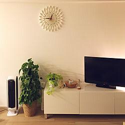 リビング/観葉植物/ナチュラル/IKEA/シンプル...などのインテリア実例 - 2018-04-07 00:51:45