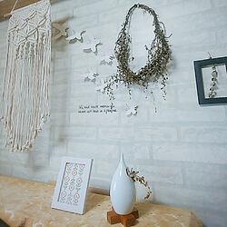 玄関/入り口/花のある暮らし/RCの出会いに感謝♡/いつも見てくれて感謝です♥︎/yukimaruちゃんの刺繍...などのインテリア実例 - 2020-03-16 17:50:56